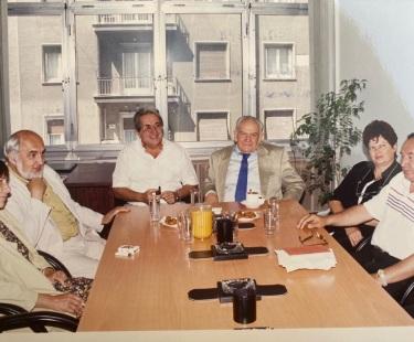 Συνάντηση ΠΟΕΣΥ με Ουγγρική Ένωση Συντακτών 1η διοίκηση ΠΟΕΣΥ 28 Μαΐου 1996